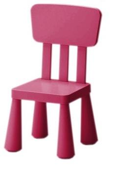 Детский стул ИКЕА МАММУТ Цвета на выбор