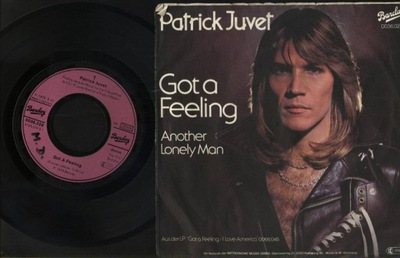 PATRICK JUVET - GOT A FEELING - ANOTHER LONELY MAN