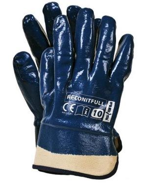 Rękawice robocze nitrylowe hit RECONITFULL 120p