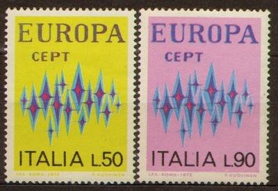 Италия . Мне 1364-65 ** - Europa CEPT 1972