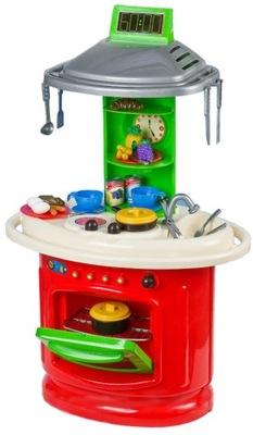 Detská kuchynka, OBROVSKÝ POĽSKEJ KUCHYNE pre deti 100 cm 2 v 1 ZADARMO