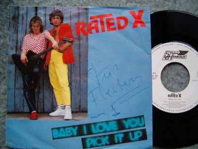 RATED X - BABY I LOVE YOU - PICK IT UP