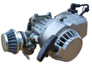 SILNIK 65 cm KOMPLETNY POCKET CROSS ATV QUAD MINI