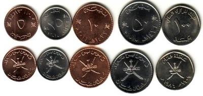 OMAN zestaw 5 monet