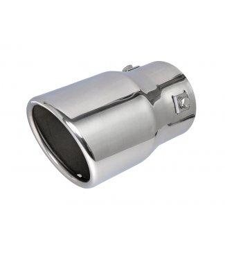 SUPER KOŃCÓWKA TŁUMIKA mocowanie 73 mm NIERDZEWKA
