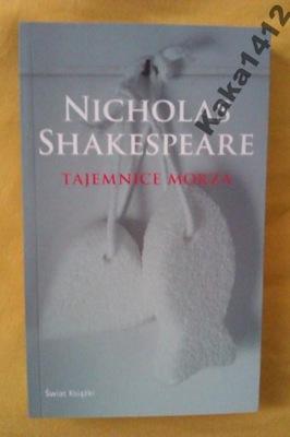 TAJEMNICE MORZA              Nicholas Shakespeare