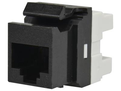 Molex Moduł Keystone RJ45 UTP kat.6 czarny