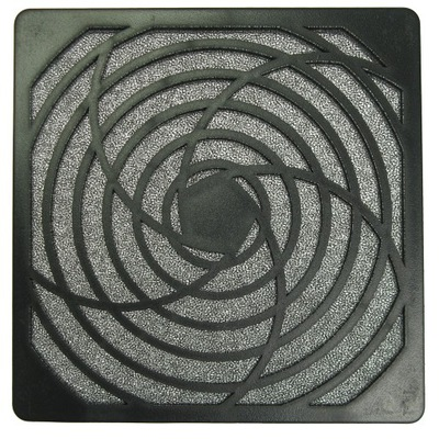 ventilátor stráže 120x120mm filter antypyłowym