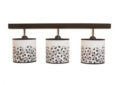 Lampy abażurkami pre deti rôzne vzory 3pł.