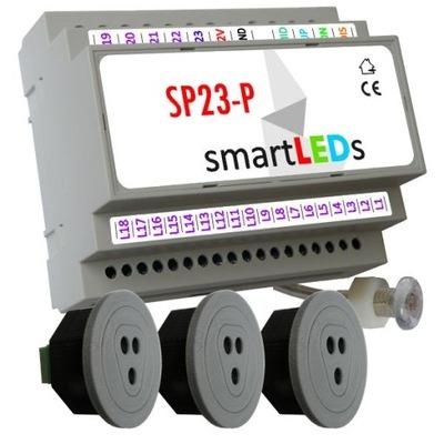 smartLEDs SP23-P Ovládač pre schodisko LED+ 3CZUJNIKI