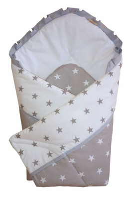 Zavinovací spací vak - BEDBLE BICIK BABY 100% BAVLNÝ DIZAJN