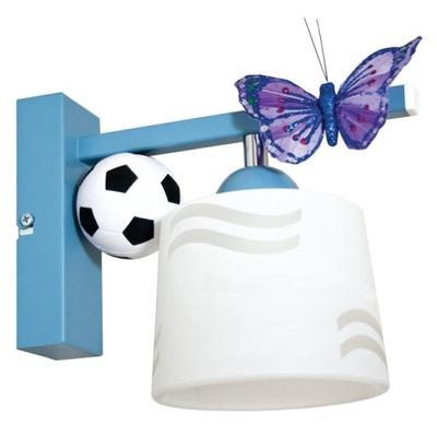 Svietidlá do detskej komory - Podprsenka pre človeka FUTBAL ZADARMO blue
