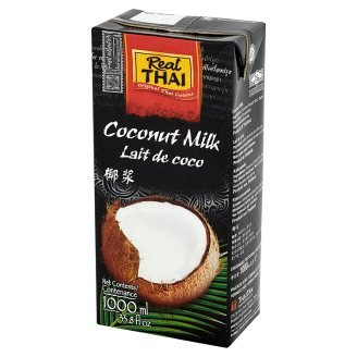 12 x Молоко Кокосовое Real Thai 1 L