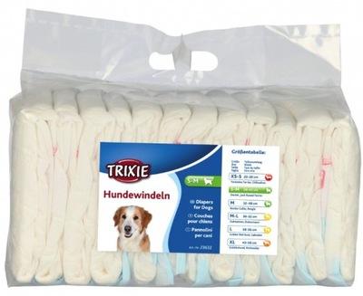 Pieluchy pampersy dla psa suczki Trixie S-M 12 szt