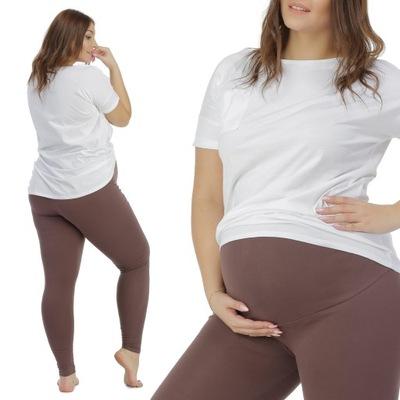 BENSINI Legginsy getry ciążowe Classic PAS CIĄŻOWY