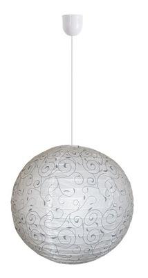 LAMPA WISZĄCA PAPIEROWA + OPRAWA +ŻARÓWKA LED IKEA
