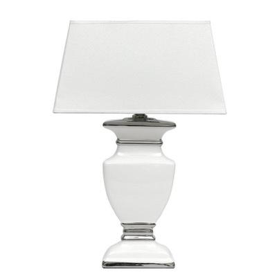 lampy stołowe pekate srebro