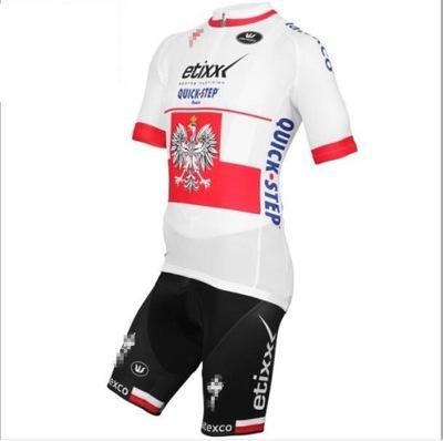 Strój kolarski strój rowerowy na rower Polska r.M