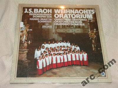 3LP Vinyl - BACH.J.S., Weihnachtsoratorium, folia!