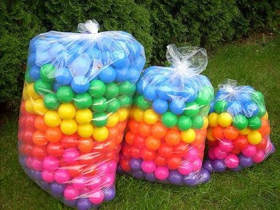 Piłki piłeczki suchy basen POLSKIE 7 cm 500 szt,