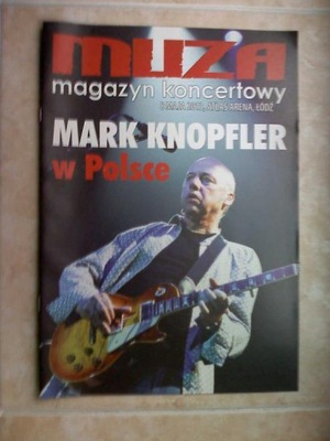 MARK KNOPFLER PRIVATERING KONCERT ŁÓDŹ 8.05.2013
