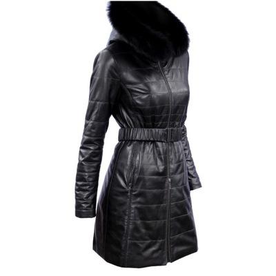 Płaszcz skórzany damski DORJAN WIA450 Płaszcze skórzane