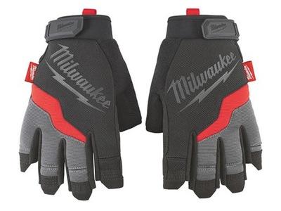 Pracovné rukavice MILWAUKEE bez prstov M / 8 ROBO-KOP
