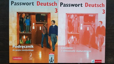 Passwort Deutsch 3 Podręcznik+Ćwiczenia+CD NOWE
