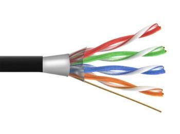 Kábel FTP 4x2x0,5 żelowany roll 100 MB 5354 Cu