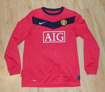 Manchester Utd Koszulka Nike rozm.L Ahmad 12/13Lat