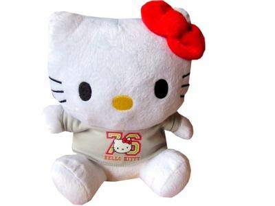 Postavička Hello Kitty - HELLO KITTY Plush cat MASKOTKA PLUSZAK KOTEK