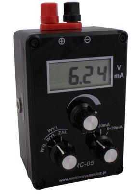 Zadajnik sygnału 0-10V / 4-20mA / 0-20mA RC-05