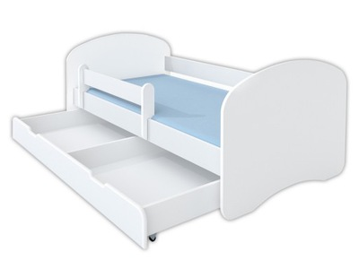 кровать детское 160x80 ящик кровать - белое
