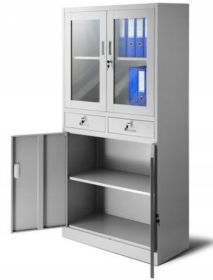 шкаф офисная RODO для документов металлический  НОВАК