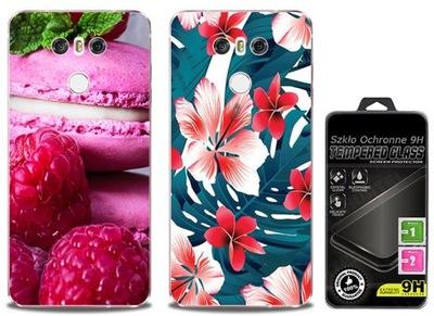 2x Etui Cienki Silikon Foto Do LG G6