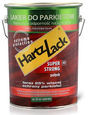 HartzLack SuperStrong Лак для паркета 5л полумат