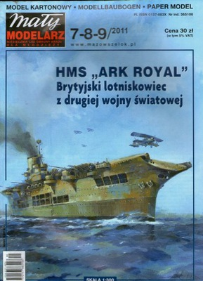 MM 7-8-9/2011 HMS ,,ARK ROYAL''