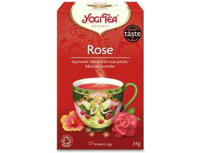 ??? TAO ROSE, роза  ???  (17 x 2g) - YOGI TEA