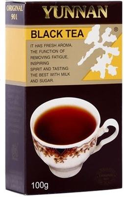 чай черная Юньнань ЛИСТОВОЙ Отличная ПРОВЕРЬТЕ 100г