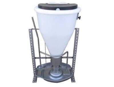 Кормушка кормовой автомат для свиней на откорме 130L tubomat