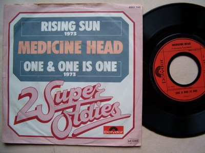 MEDICINE HEAD - RISING SUN - ONE & ONE IS ONE