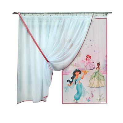 Firana Dziecięca Księżniczki Panel Ekran 3547668400