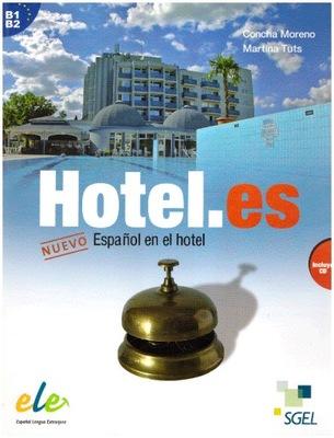 Hotel.es Nuevo Espanol en el Libro + CD B1 B2 NOWA