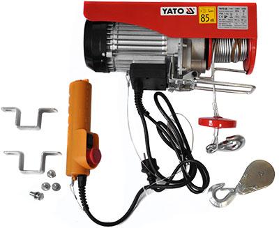 Zdvihnúť elektrický naviják 1050 W 600 kg YATO