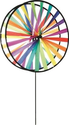 Magické rainbow větrník dekorácie 138 cm