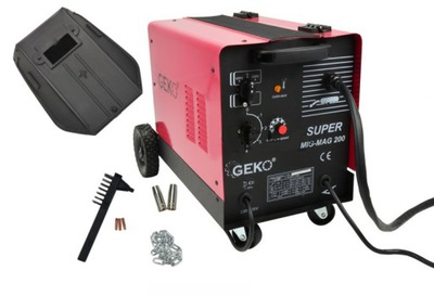 Zváračka, príslušenstvo - Zváračka MIGOMAT MIG / MAG 200A 230 / 400V GEKO PROFI