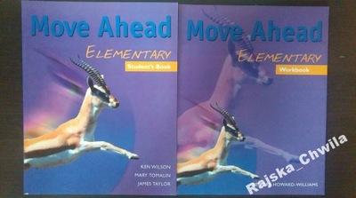 Move Ahead Elementary Podręcznik+Ćwiczenia NOWE
