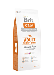 BRIT CARE ADULT MEDIUM LAMB 12 КГ КОРМ ДЛЯ СОБАКИ