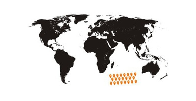 VZOR MAĽOVANIE 240 cm mape sveta šablóny mate !