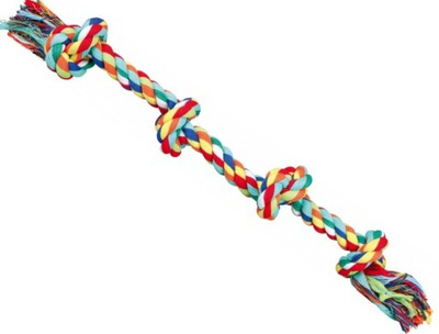 Трикси Мощный шнурок ХЛОПКОВЫЙ прорезыватель для СОБАКИ Пятьдесят четыре см